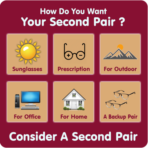 consider a second pair of glasses Family Optometric Group in Oxnard, CA